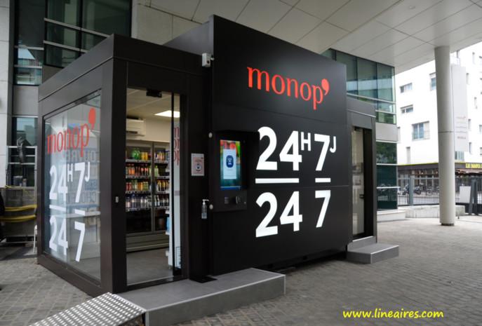 La première box Monop' est testée depuis septembre au siège même de l'enseigne, par les salariés du groupe.