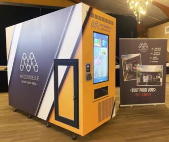Nouveau : un petit distributeur automatique multiproduits